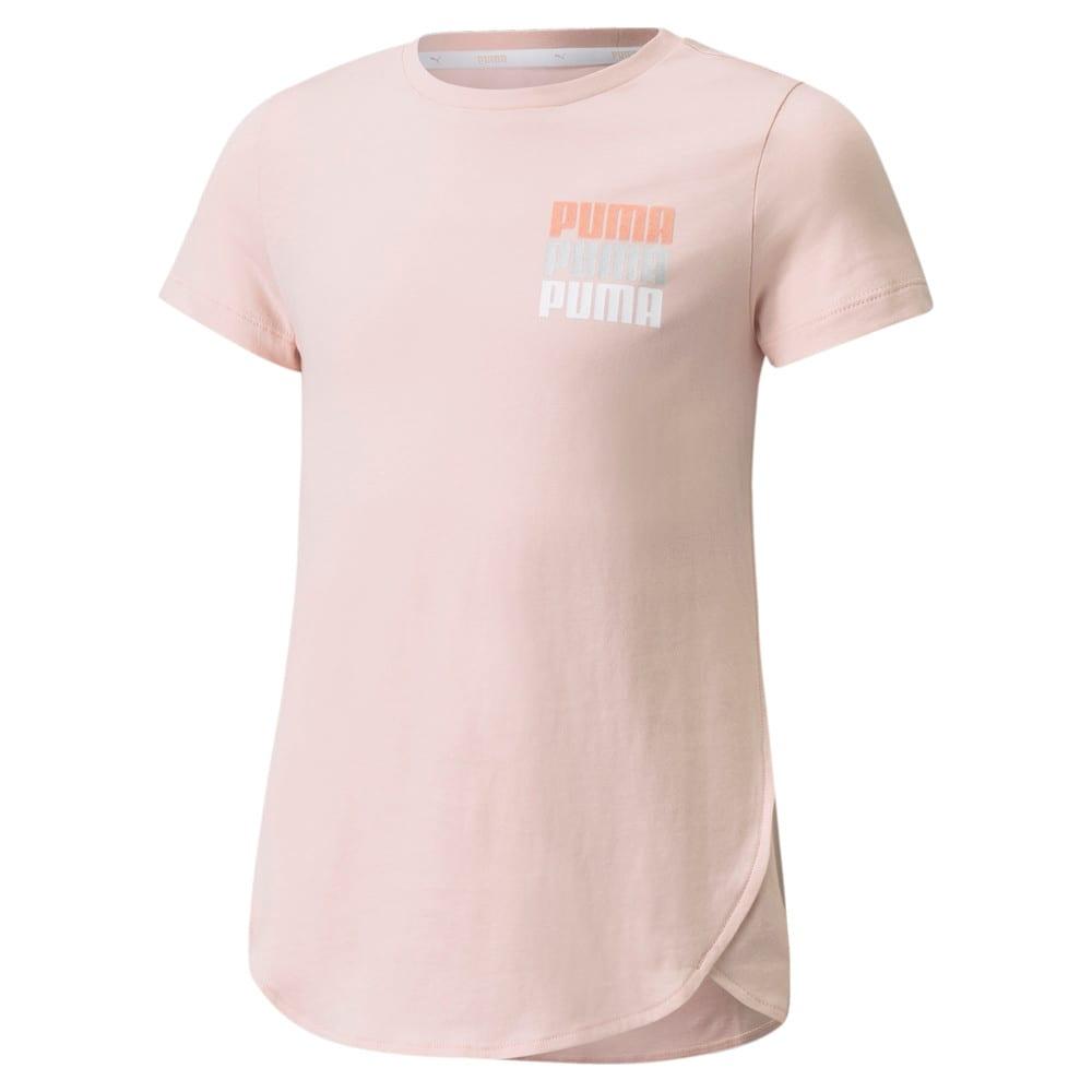 Изображение Puma Детская футболка Alpha Style Youth Tee #1: Lotus