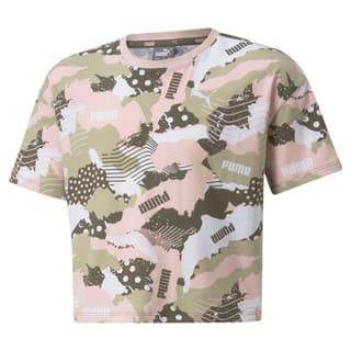 Изображение Puma Детская футболка Alpha Printed Youth Tee