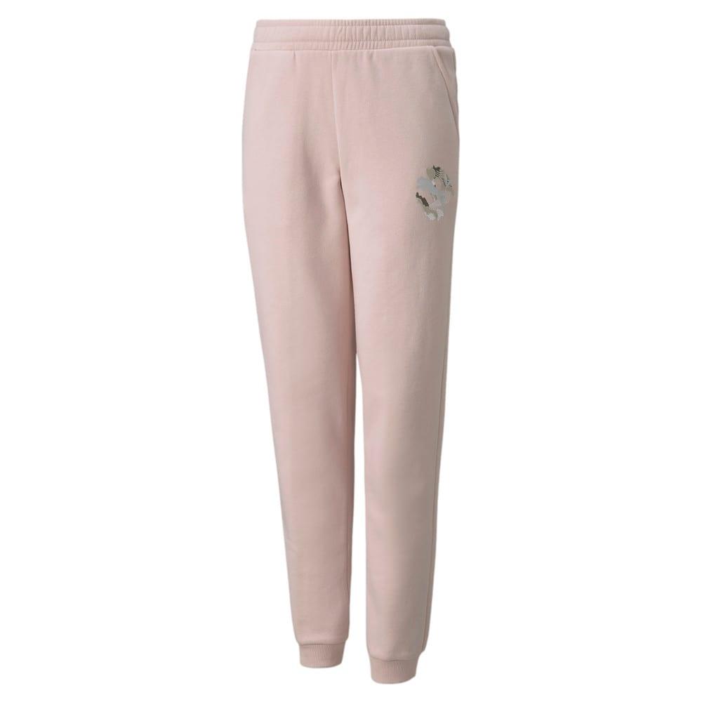 Зображення Puma Дитячі штани Alpha Youth Sweatpants #1: Lotus
