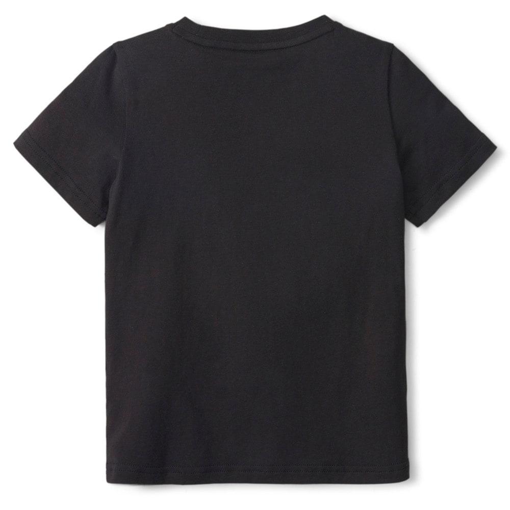Изображение Puma Детская футболка LIL PUMA Kids' Tee #2: Puma Black