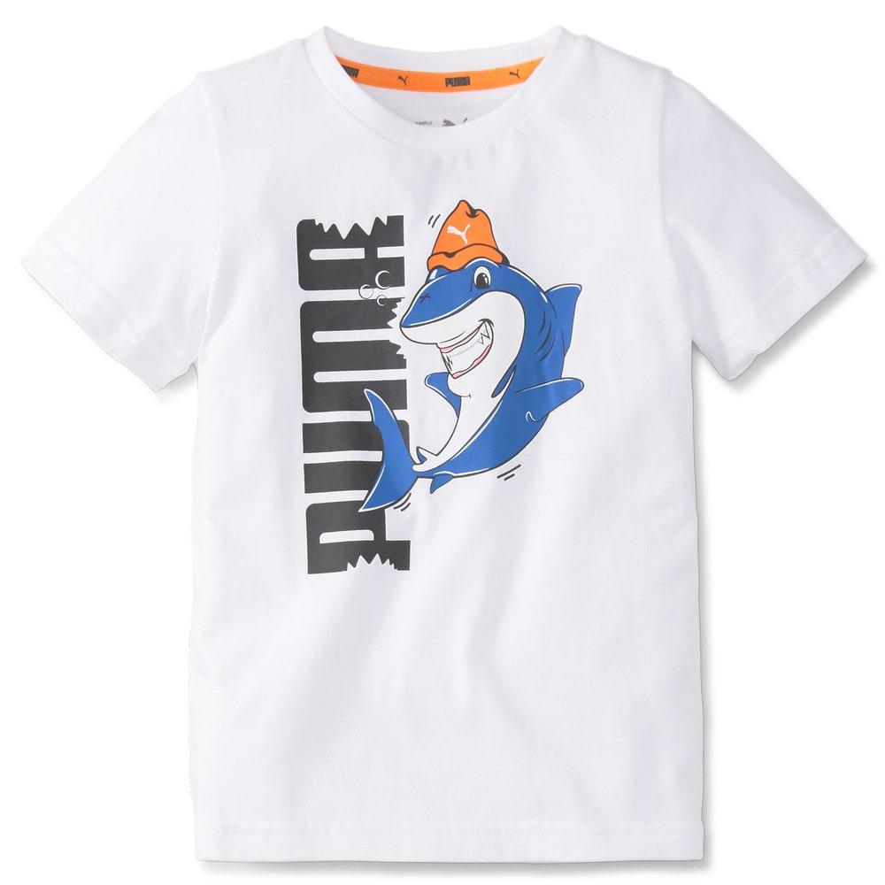 Изображение Puma Детская футболка LIL PUMA Kids' Tee #1