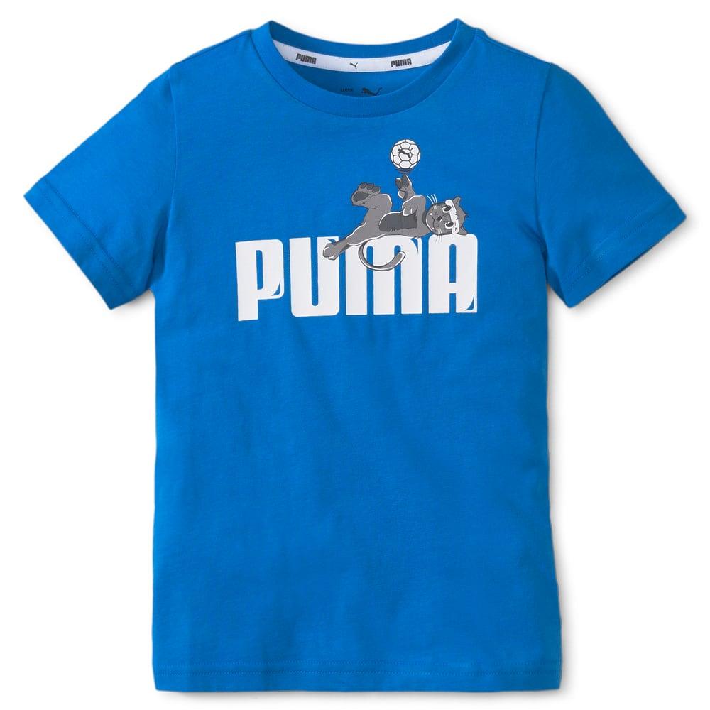 Изображение Puma Детская футболка LIL PUMA Kids' Tee #1: Future Blue
