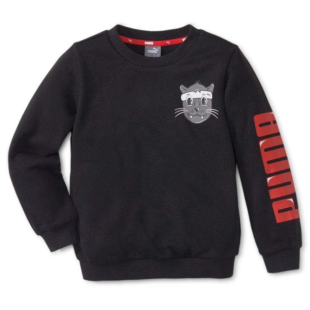 Зображення Puma Дитяча толстовка LIL PUMA Crew Neck Kids' Sweater #1: Puma Black