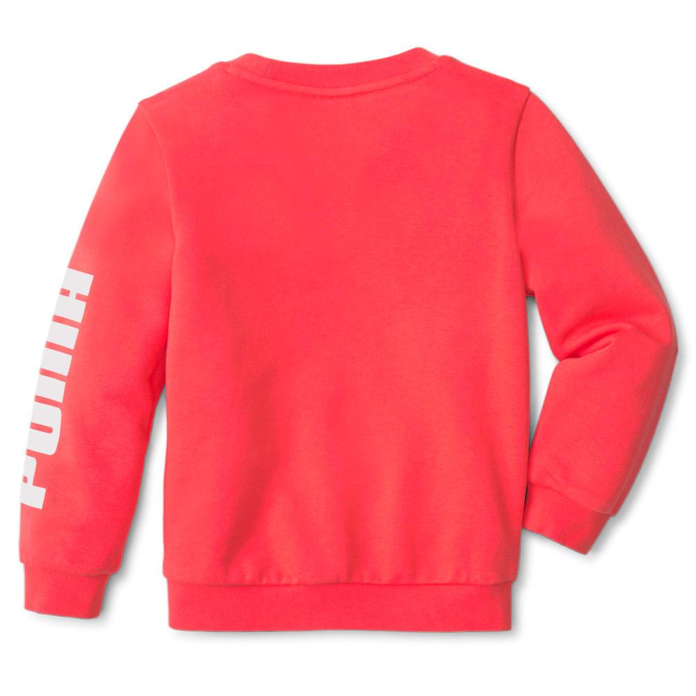 Изображение Puma Детская толстовка LIL PUMA Crew Neck Kids' Sweater #2: Paradise Pink