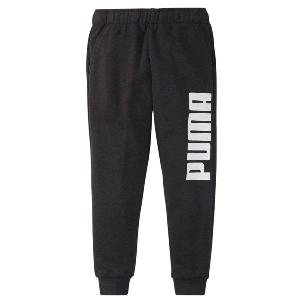 Изображение Puma Детские штаны LIL PUMA Kids' Sweatpants #1