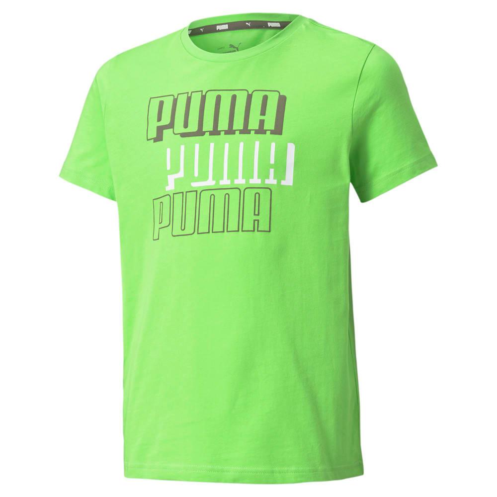 Изображение Puma Футболка Alpha Youth Tee #1