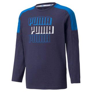 Image Puma Alpha Long Sleeve Youth Tee