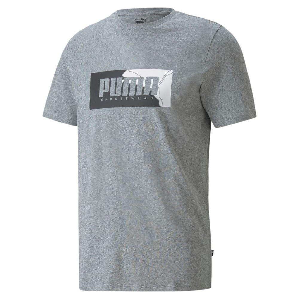 Image PUMA Camiseta Box Graphic Masculina #1