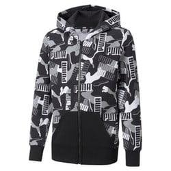 Alpha Printed Full-Zip Youth Jacket