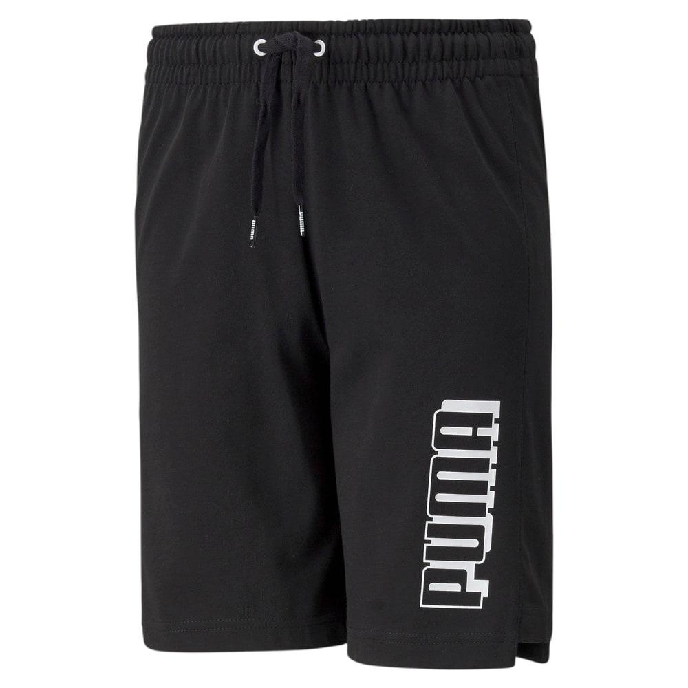 Изображение Puma Детские шорты Alpha Youth Shorts #1