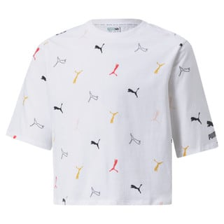 Изображение Puma Детская футболка Classics Graphics Youth Tee