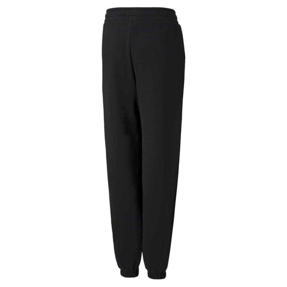 Imagen PUMA Pantalones deportivos juveniles de corte holgado GRL #2
