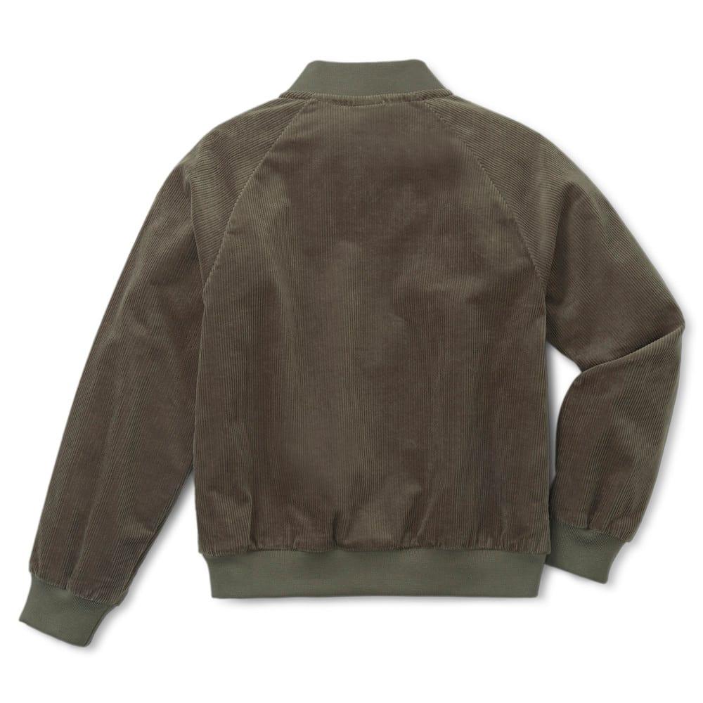 Изображение Puma Детская куртка T4C Full Zip Kids' Jacket #2: Grape Leaf