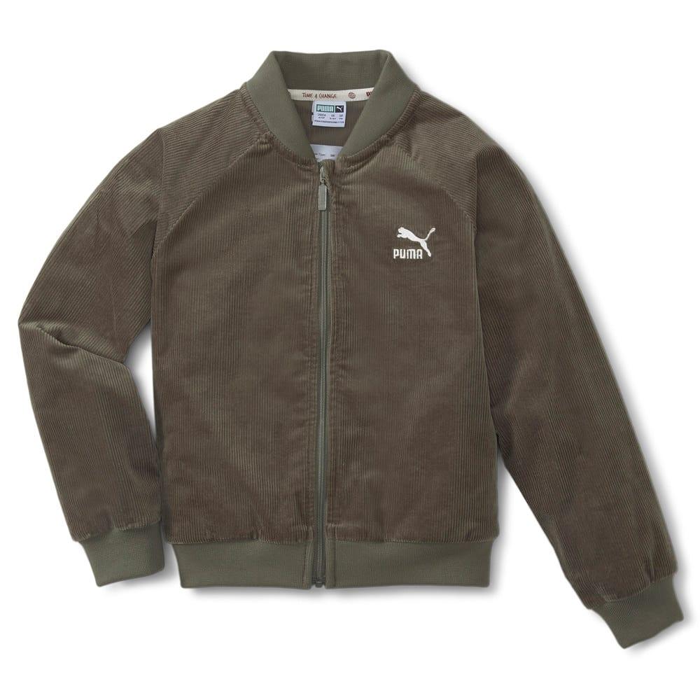 Изображение Puma Детская куртка T4C Full Zip Kids' Jacket #1: Grape Leaf