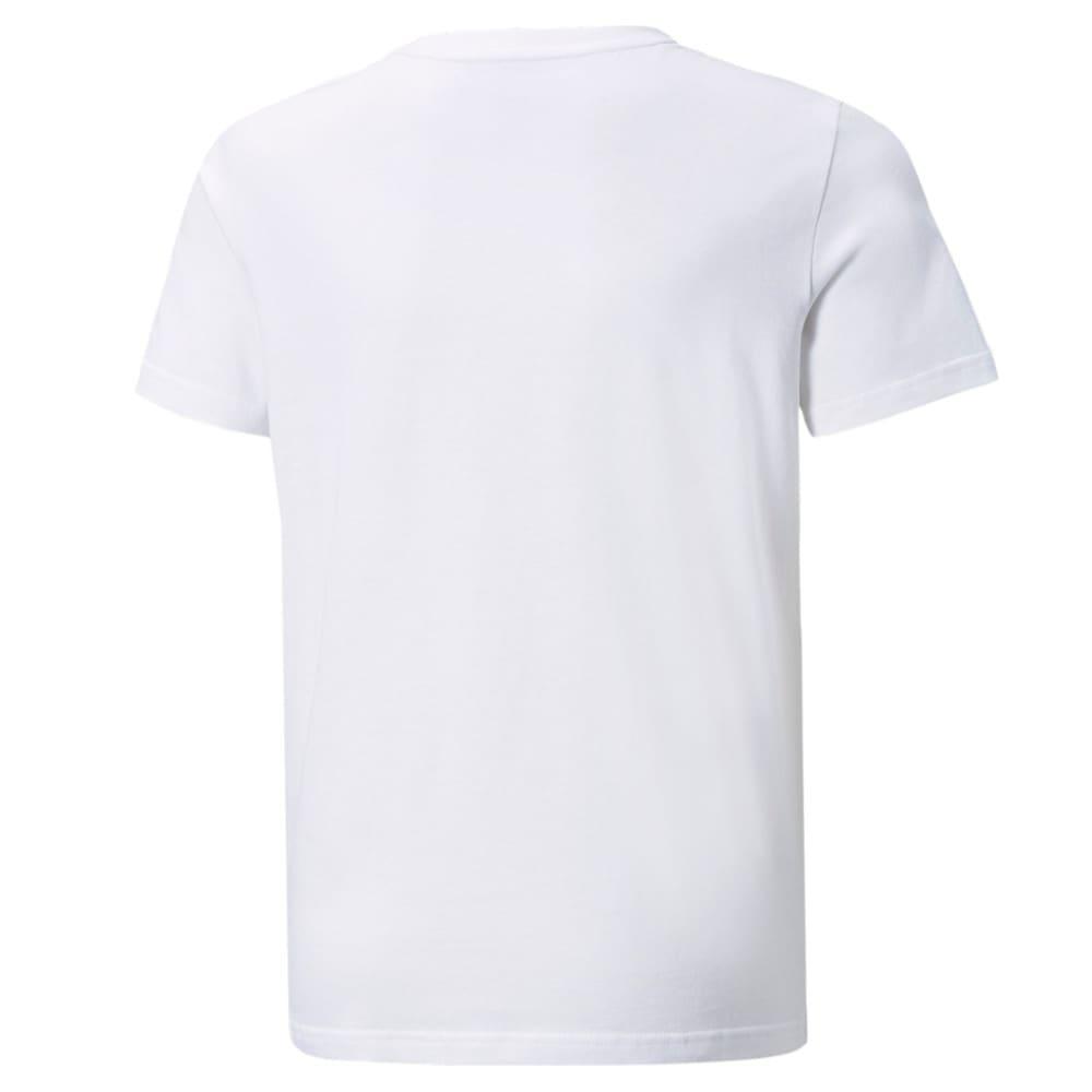 Изображение Puma Детская футболка Power Youth Tee #2: Puma White