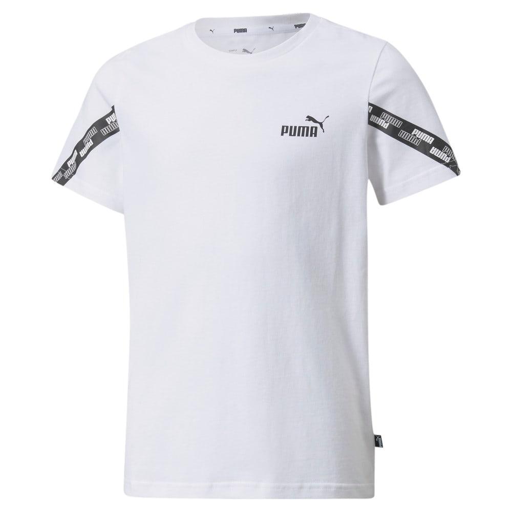 Изображение Puma Детская футболка Power Youth Tee #1: Puma White
