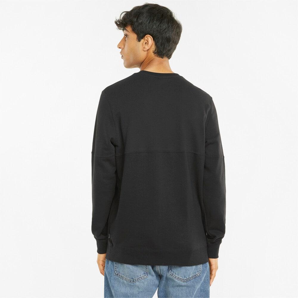 Imagen PUMA Polerón de cuello redondo para hombre Modern Basics #2