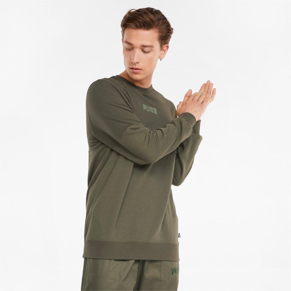 Image Puma Modern Basics Crew Neck Men's Sweatshirt #1