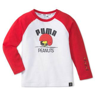 Изображение Puma Детская футболка с длинным рукавом PUMA x PEANUTS Long Sleeve Kids' Tee