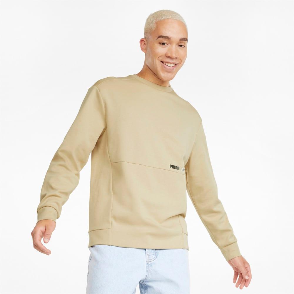 Изображение Puma Толстовка RAD/CAL Crew Neck Men's Sweatshirt #1: Pebble