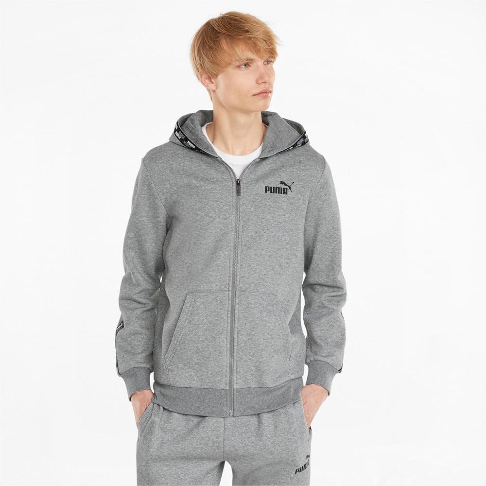 Зображення Puma Толстовка Power Full-Zip Men's Hoodie #1: Medium Gray Heather