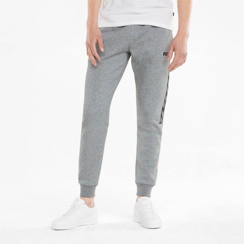 Изображение Puma Штаны Power Men's Sweatpants #1: Medium Gray Heather