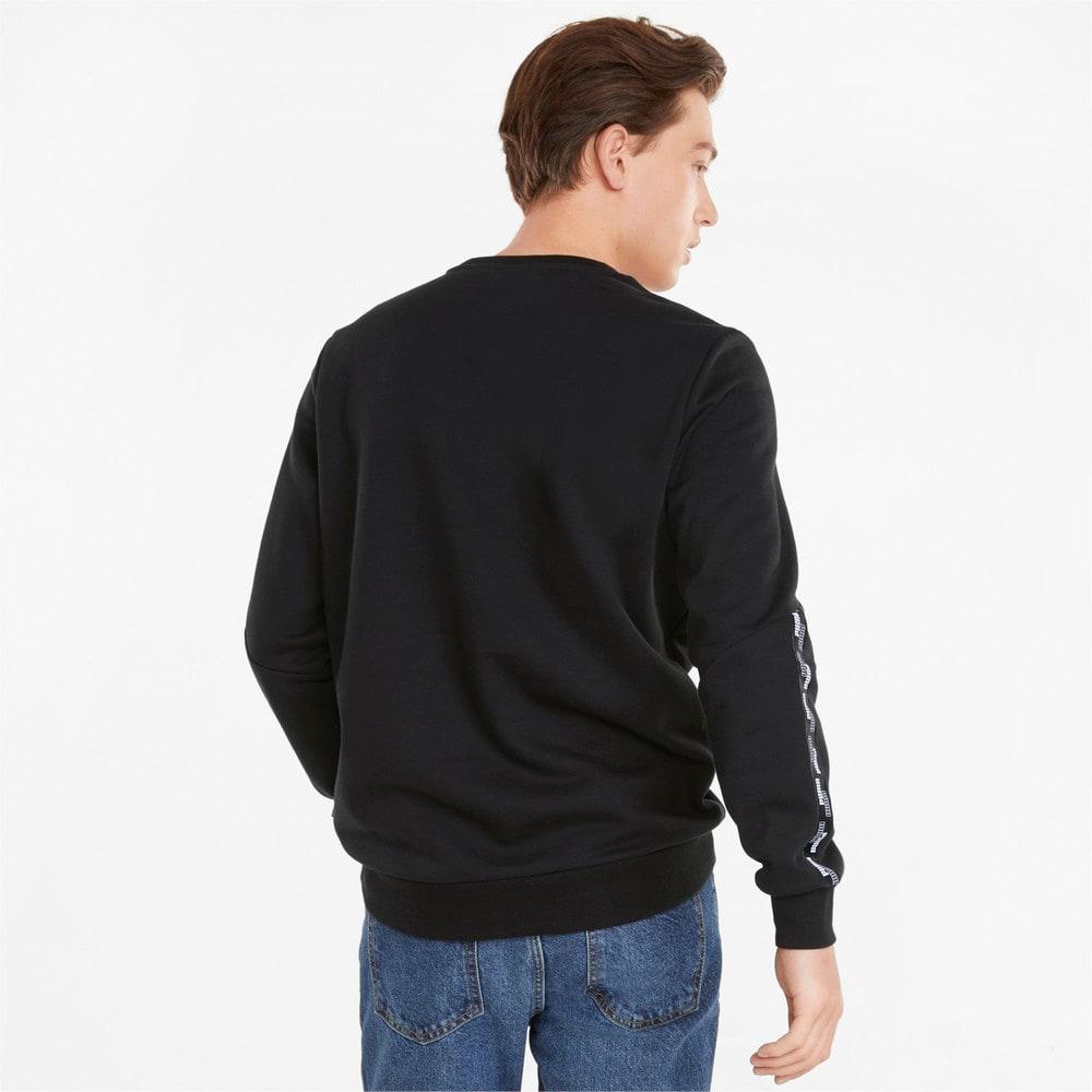 Зображення Puma Толстовка Power Tape Crew Neck Men's Sweatshirt #2: Puma Black