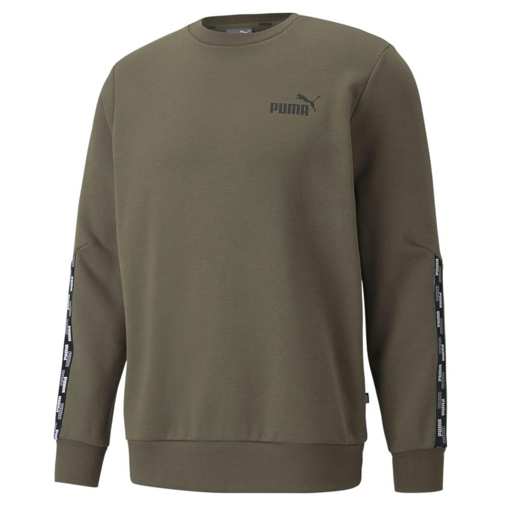 Зображення Puma Толстовка Power Tape Crew Neck Men's Sweatshirt #1: Grape Leaf