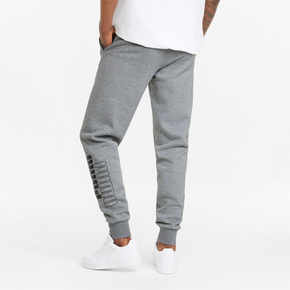 Зображення Puma Штани Power Men's Sweatpants #2: Medium Gray Heather