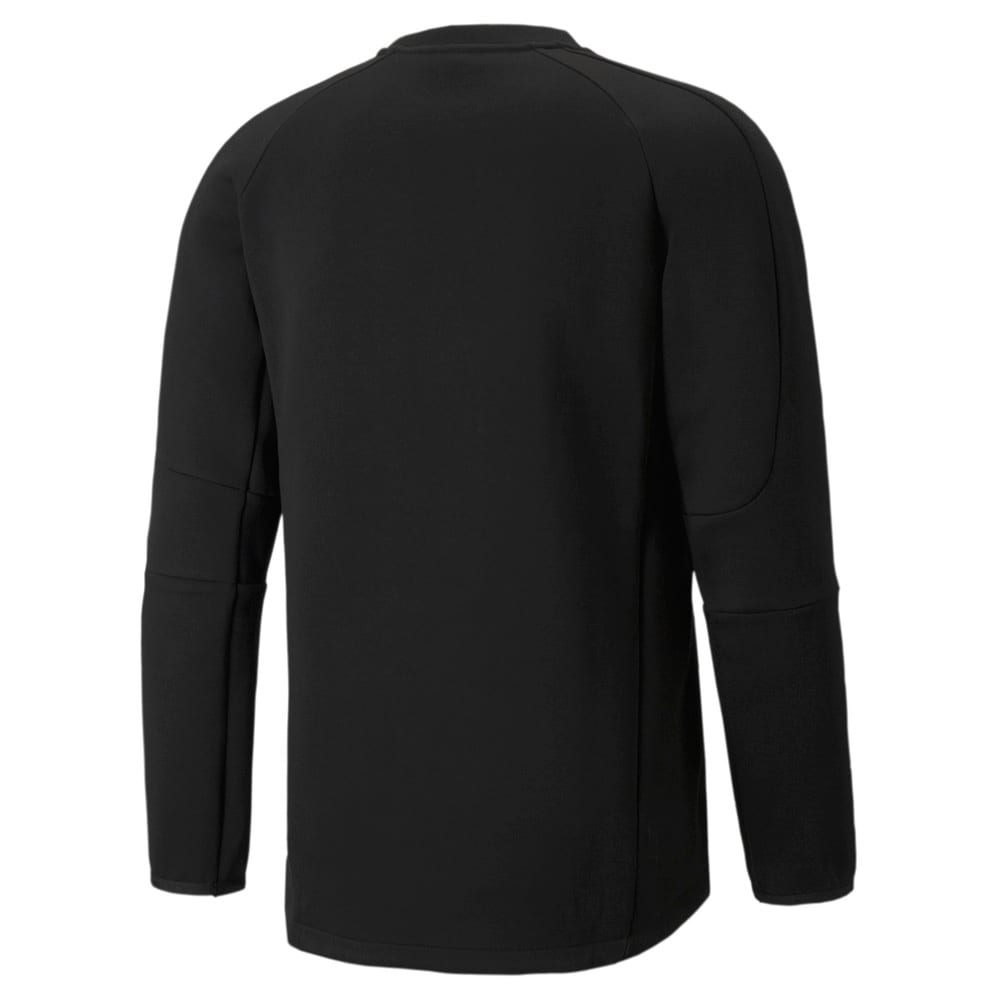 Зображення Puma Толстовка Evostripe Crew Neck Men's Sweatshirt #2: Puma Black