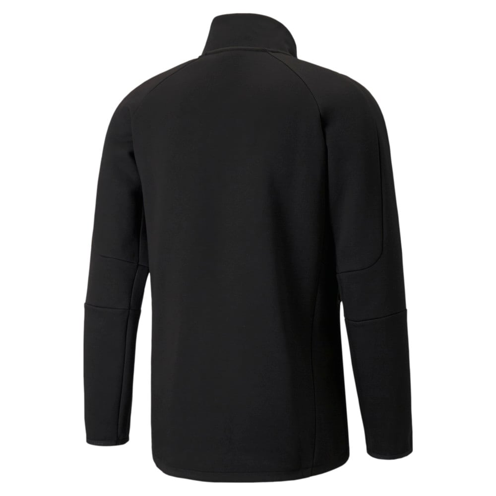 Зображення Puma Толстовка Evostripe Half-Zip Men's Pullover #2: Puma Black