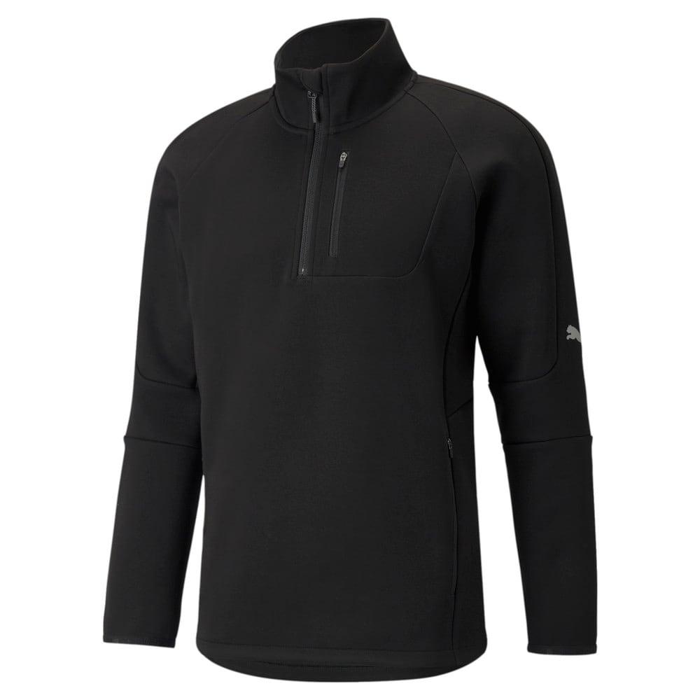 Зображення Puma Толстовка Evostripe Half-Zip Men's Pullover #1: Puma Black