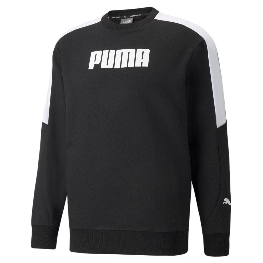 Зображення Puma Толстовка Modern Sports Crew Neck Men's Sweatshirt #1: Puma Black