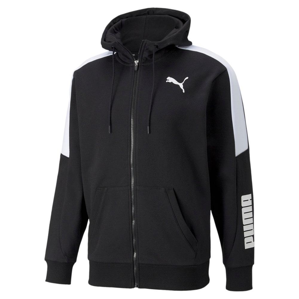 Изображение Puma Толстовка Modern Sports Full-Zip Men's Hoodie #1: Puma Black