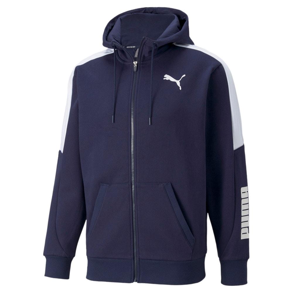 Изображение Puma Толстовка Modern Sports Full-Zip Men's Hoodie #1: Peacoat