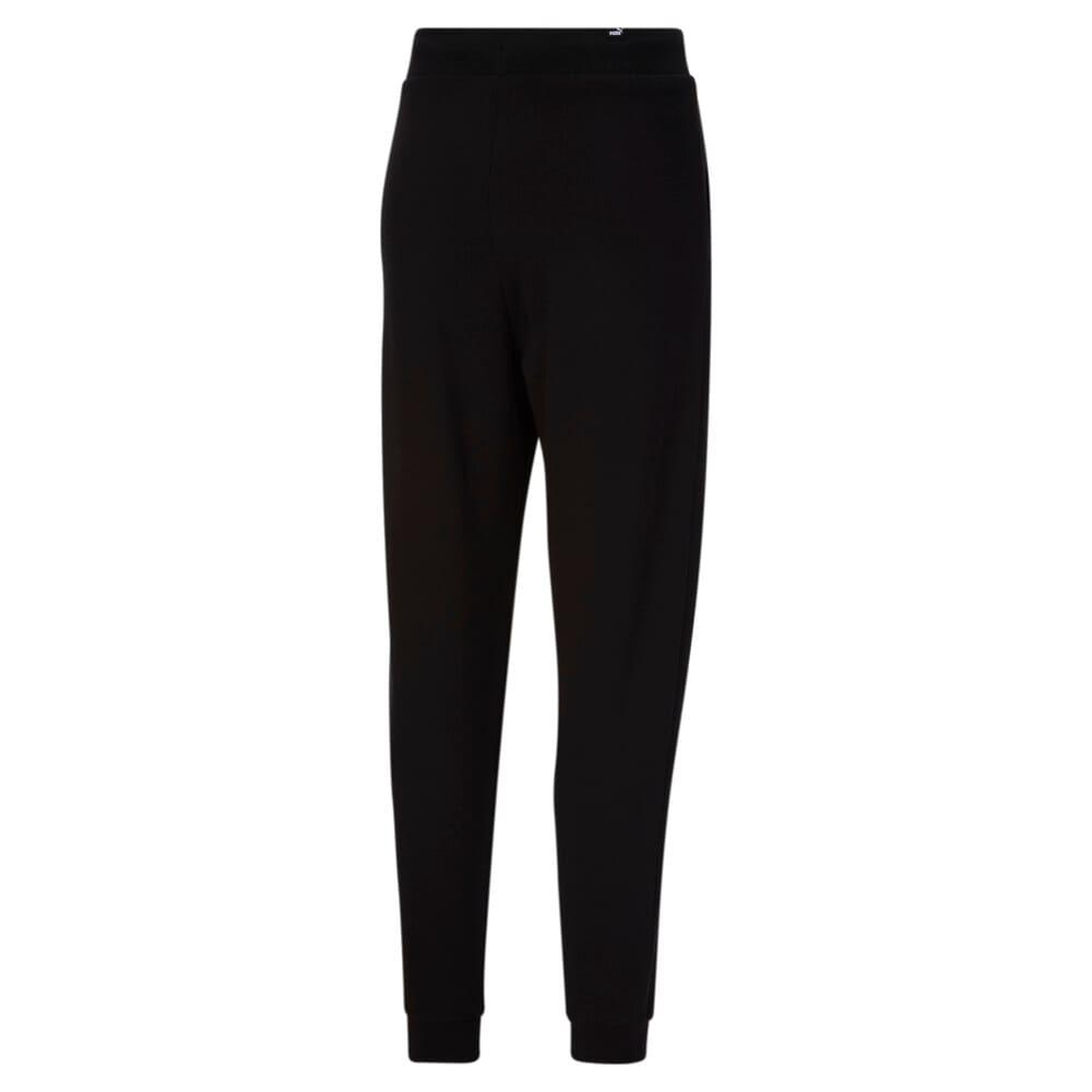 Изображение Puma Штаны HER High Waist Women's Sweatpants #2: Puma Black