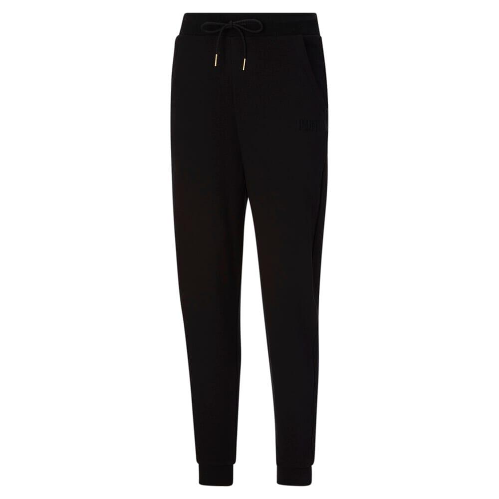 Изображение Puma Штаны HER High Waist Women's Sweatpants #1: Puma Black