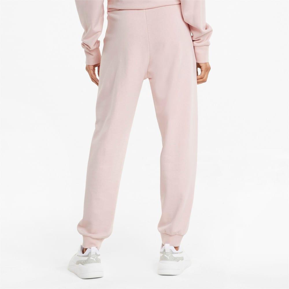 Imagen PUMA Pantalones deportivos de cintura alta para mujer HER #2