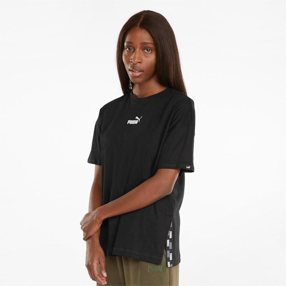 Зображення Puma Футболка POWER Elongated Women's Tee #1: Puma Black