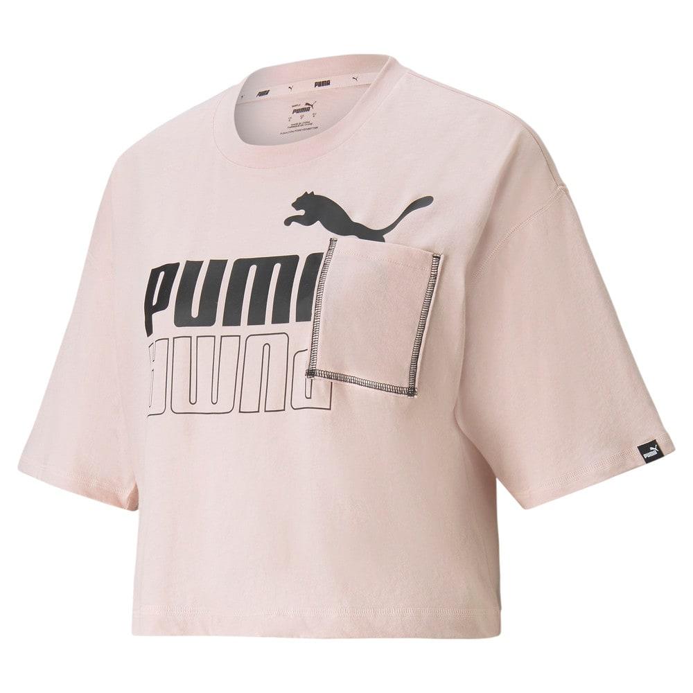 Изображение Puma Футболка POWER Boxy Pocket Women's Tee #1