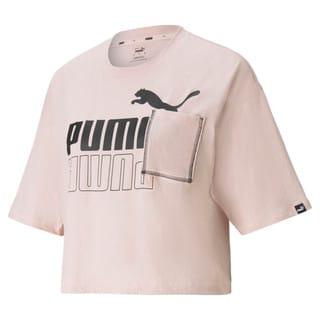 Изображение Puma Футболка POWER Boxy Pocket Women's Tee