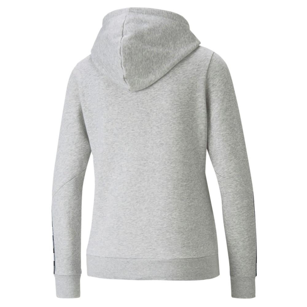 Зображення Puma Толстовка POWER Full-Zip Women's Hoodie #2: light gray heather