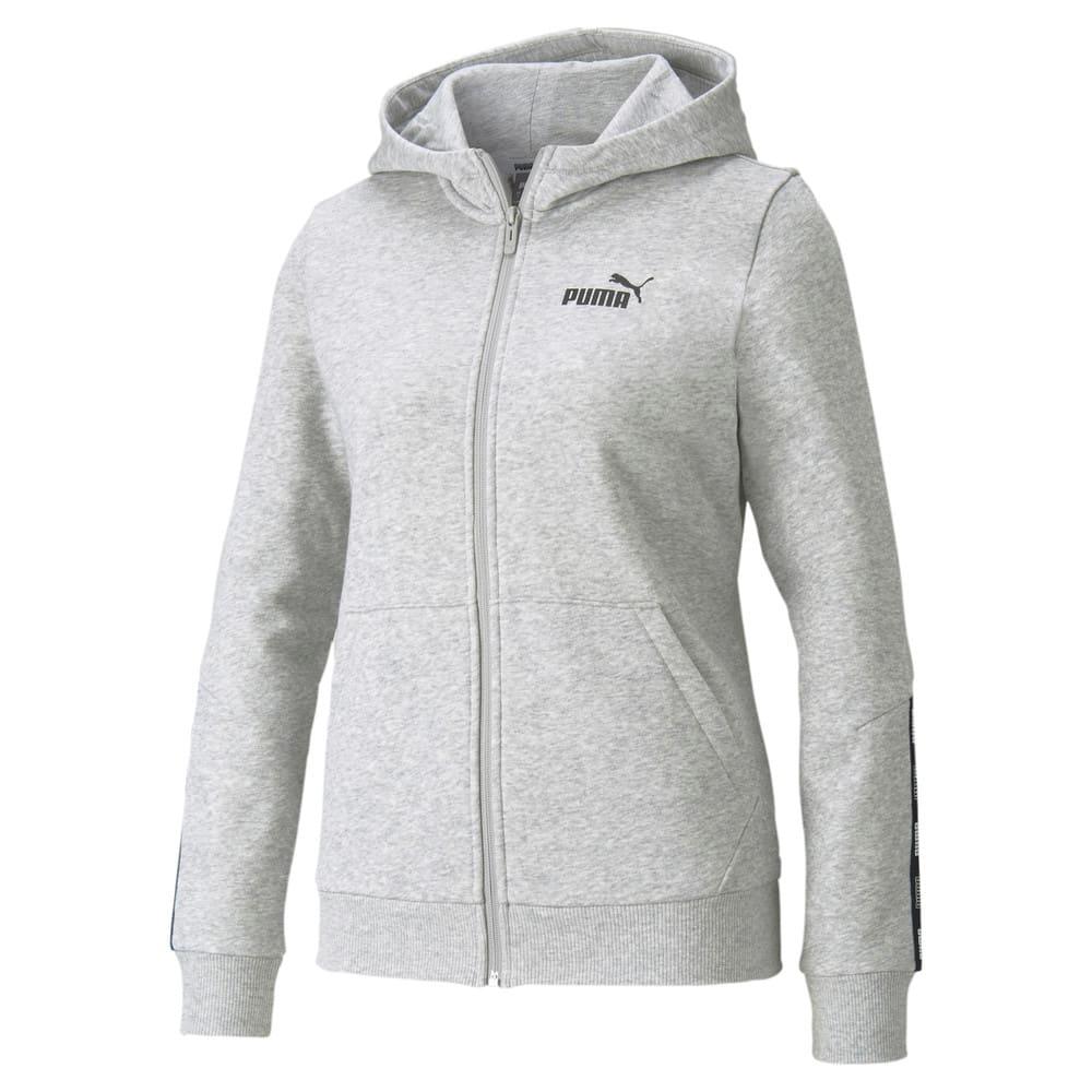 Зображення Puma Толстовка POWER Full-Zip Women's Hoodie #1: light gray heather
