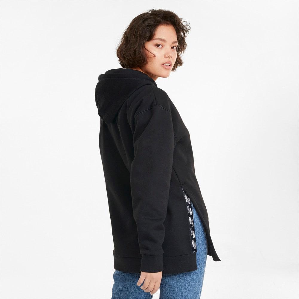 Imagen PUMA Polerón largo con capucha para mujer POWER #2