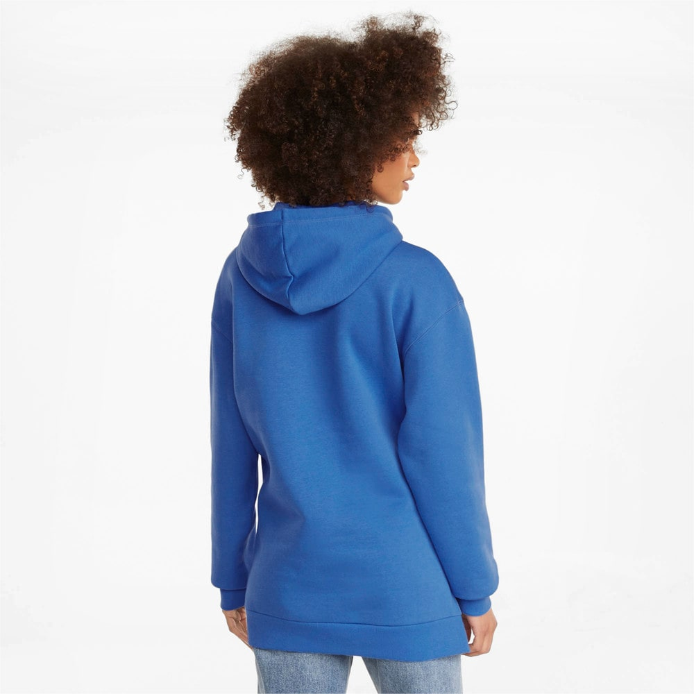 Изображение Puma Толстовка POWER Elongated Women's Hoodie #2: Nebulas Blue