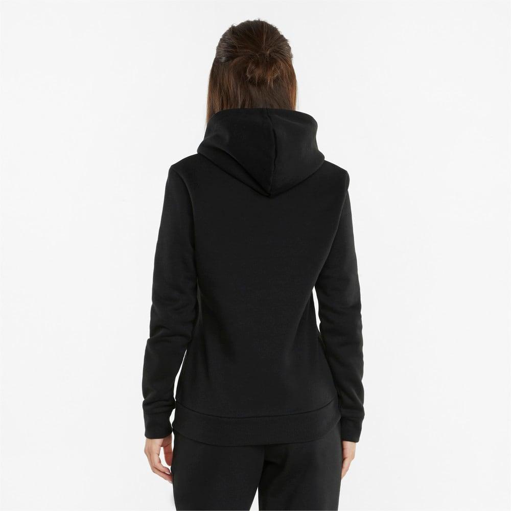 Изображение Puma Толстовка POWER Logo Women's Hoodie #2: Puma Black