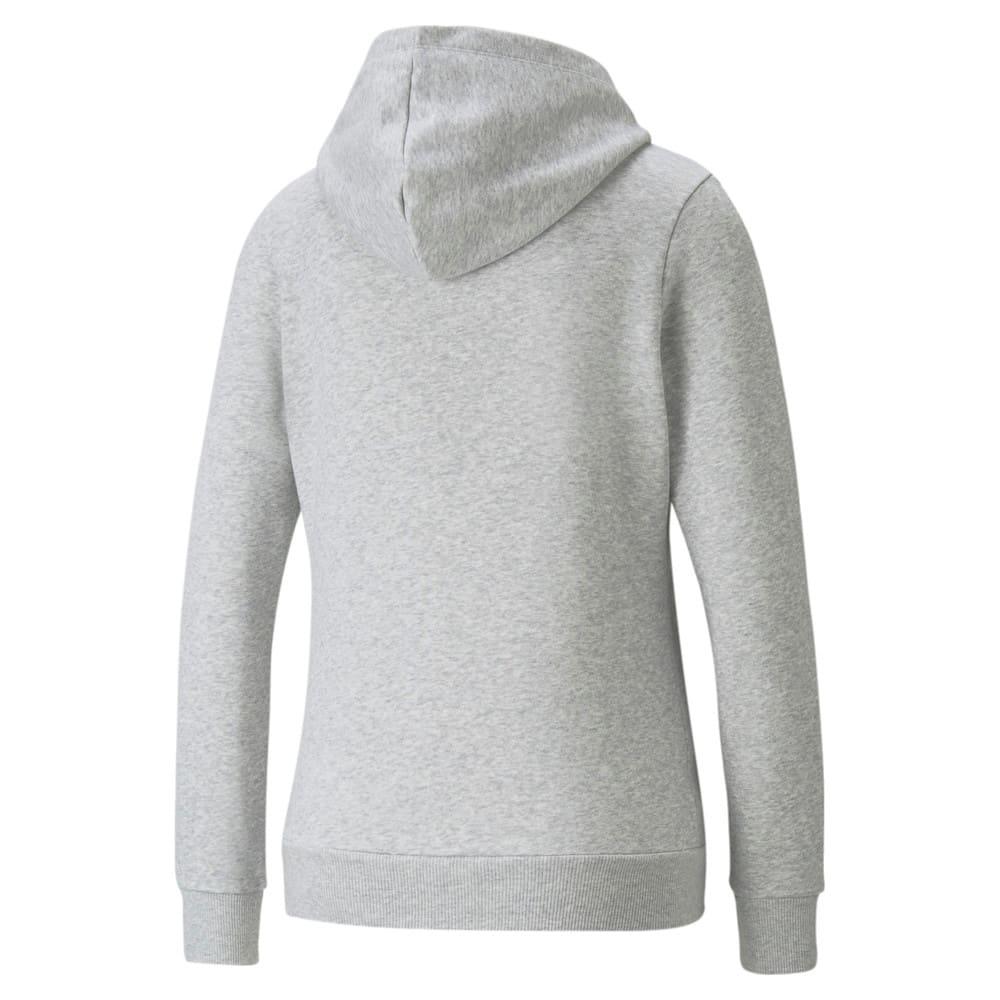 Зображення Puma Толстовка POWER Logo Women's Hoodie #2: light gray heather