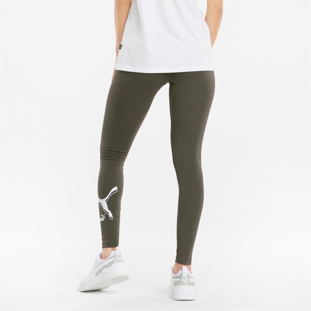 Изображение Puma Леггинсы Power Logo Women's Leggings #2: Grape Leaf