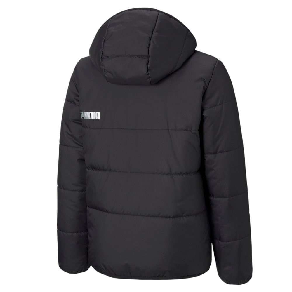 Зображення Puma Дитяча куртка Essentials Padded HD Youth Jacket #2: Puma Black