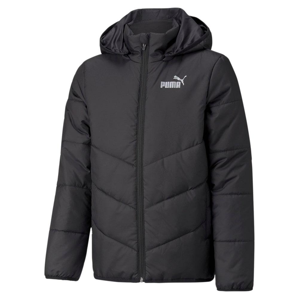Зображення Puma Дитяча куртка Essentials Padded HD Youth Jacket #1: Puma Black